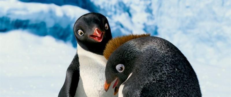Happy Feet 2 in 3D, una tenera immagine tratta dal film animato diretto da George Miller