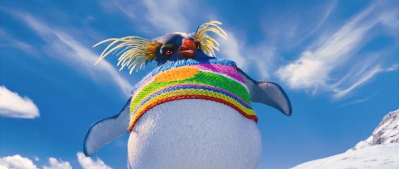 Happy Feet 2, un'immagine tratta dal sequel del film vincitore dell'Oscar nel 2007