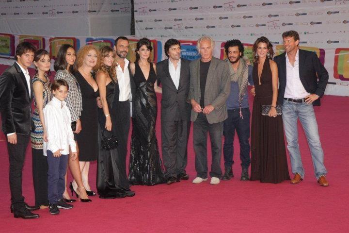 Il cast di Un amore e una vendetta al RomaFictionFest 2011