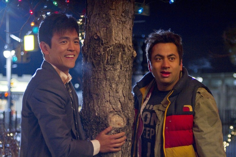 John Cho e Kal Penn in una immagine di A Very Harold & Kumar Christmas