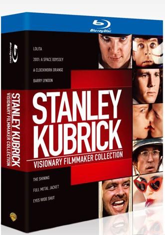 La copertina di Stanley Kubrick - Un regista visionario (blu-ray)