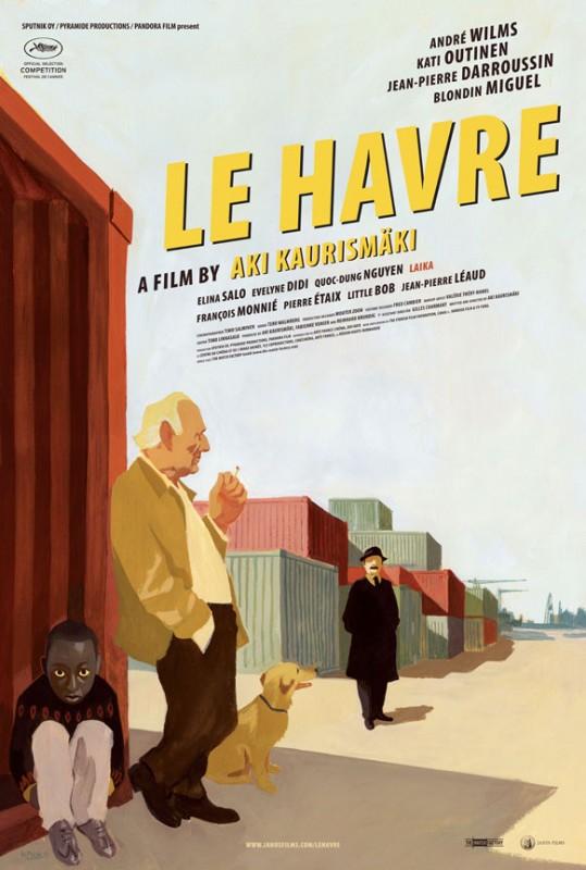 La locandina francese di Le Havre