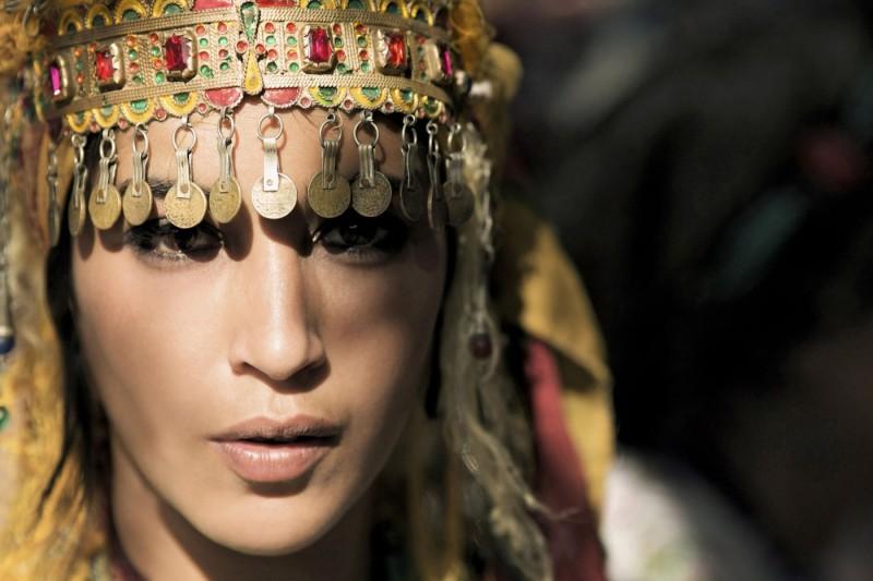La source des femmes: Leïla Bekhti, una delle protagoniste del film, in una scena