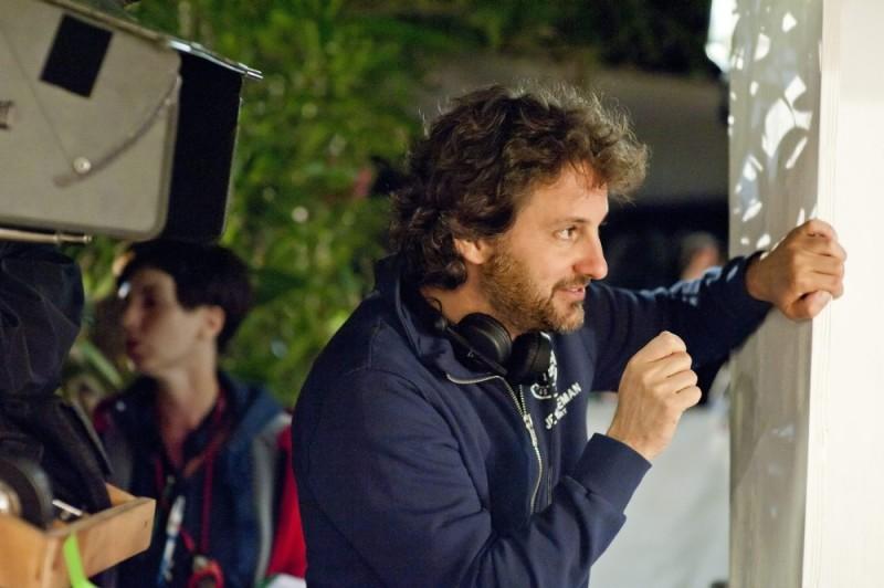 Leonardo Pieraccioni sul set della sua commedia Finalmente la felicità