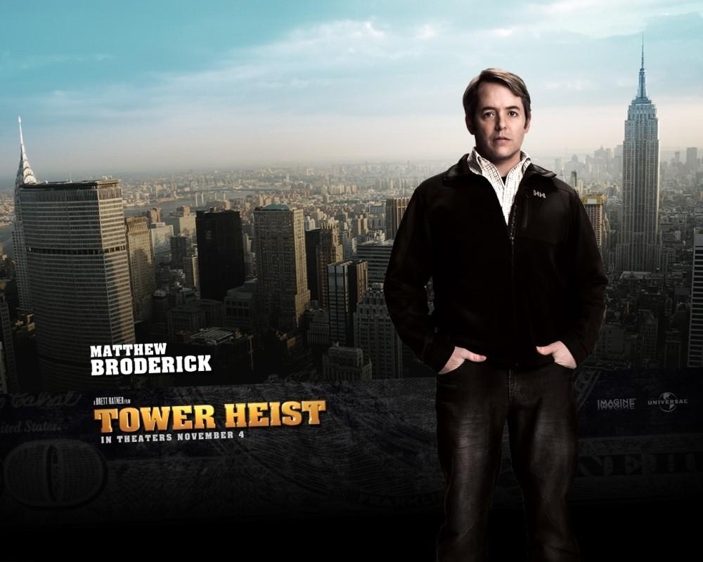 Matthew Broderick in uno dei character wallpaper del film Tower Heist: Colpo ad alto livello