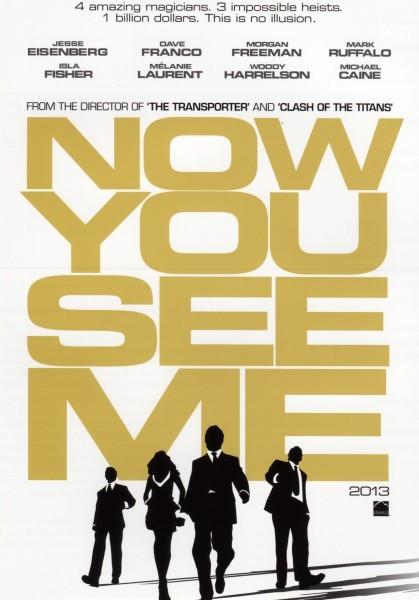 Now You See Me: la locandina del film
