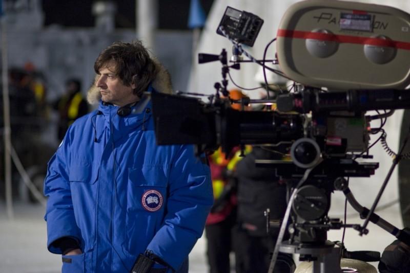 La Cosa: il regista Matthijs van Heijningen Jr. sul set del film