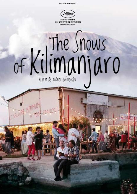 Le nevi del Kilimangiaro: il poster internazionale del film