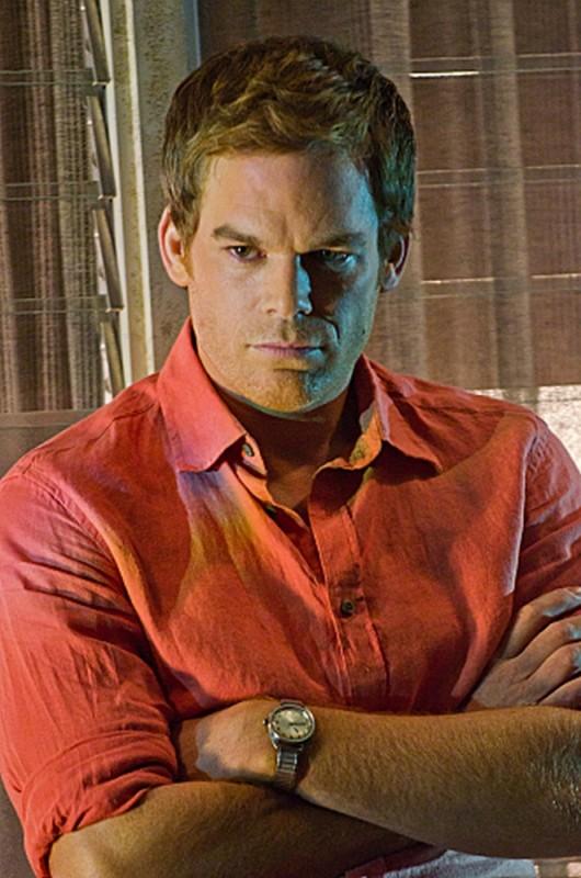 Michael C. Hall in un'immagine tratta dall'episodio The Angel of Death