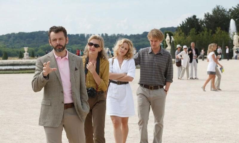 Midnight in Paris: Owen Wilson, Rachel McAdams, Nina Arianda e Michael Sheen in una scena del film