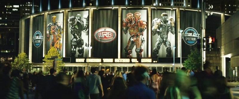Real Steel: un'immagine tratta dal dramma action di fantascienza
