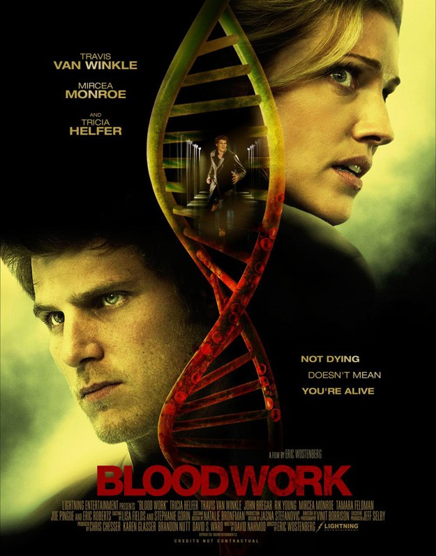 Bloodwork: la locandina del film