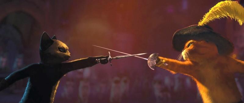 Il gatto con gli stivali: un duello di spade per il protagonista del nuovo film di animazione targato Dreamworks