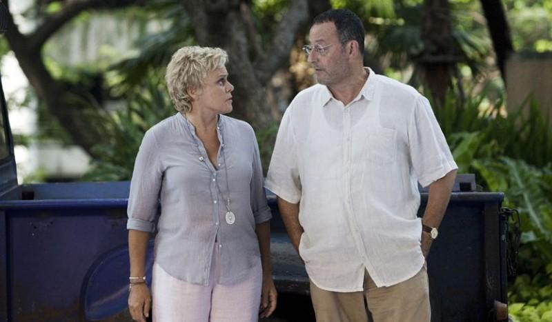 Jean Reno in On ne choisit pas sa famille con Muriel Robin