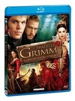 La copertina di I fratelli Grimm e l'incantevole strega (blu-ray)