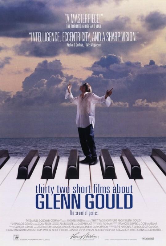 Trentadue piccoli film su Glenn Gould: la locandina del film