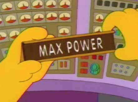 Una scena dell'episodio Homer il Max-imo ( Stagione 10 - I Simpson )