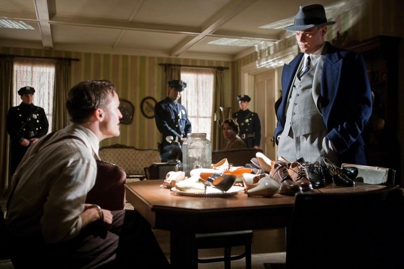 J.Edgar: Leonardo DiCaprio e Damon Herriman in una scena del film