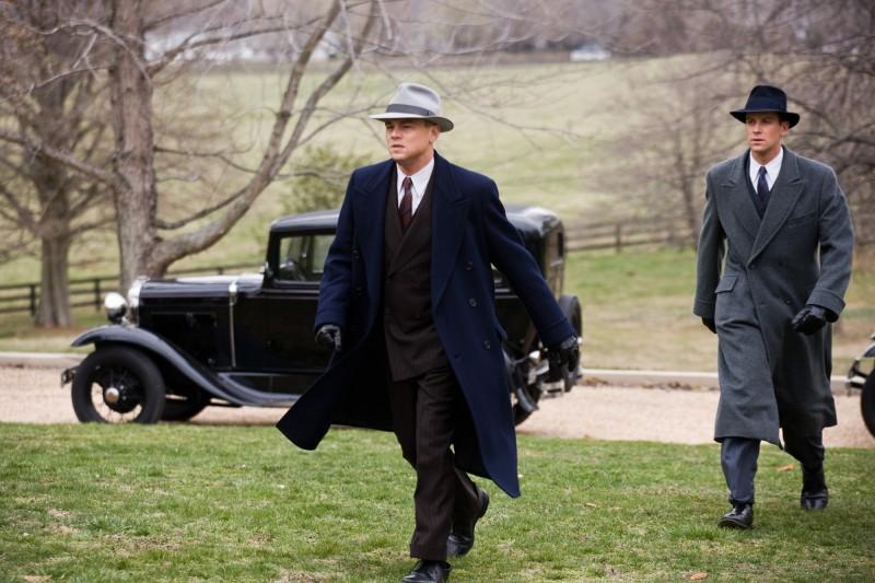 Leonardo DiCaprio con Armie Hammer in J.Edgar