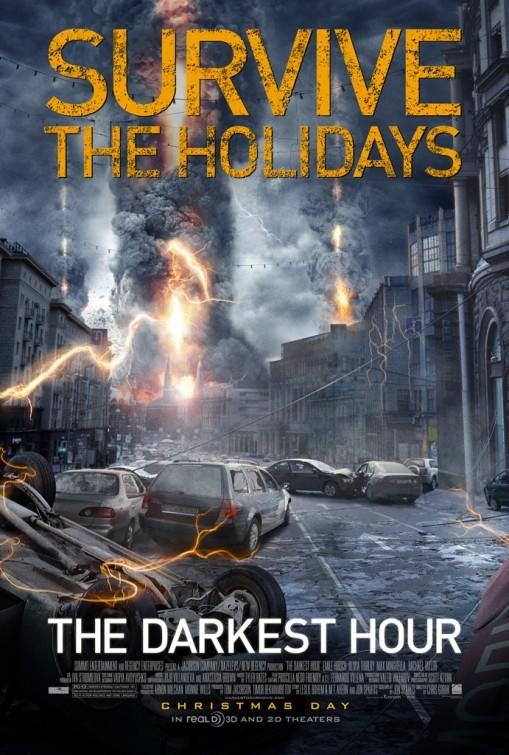 The Darkest Hour: teaser poster USA