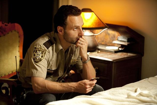 The Walking Dead: Andrew Lincoln nell'episodio La rosa di Cherokee