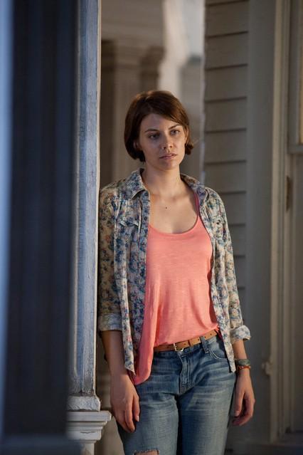 The Walking Dead: Lauren Cohan nell'episodio Sopravvivere
