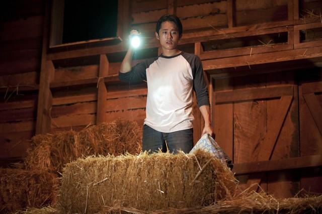 The Walking Dead: Steven Yeun nell'episodio Chupacabra