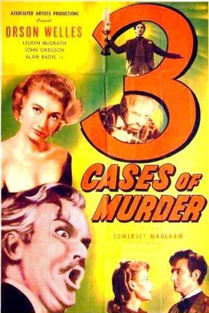 Tre casi di assassinio: la locandina del film