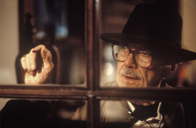 Una bella immagine del regista Robert Altman