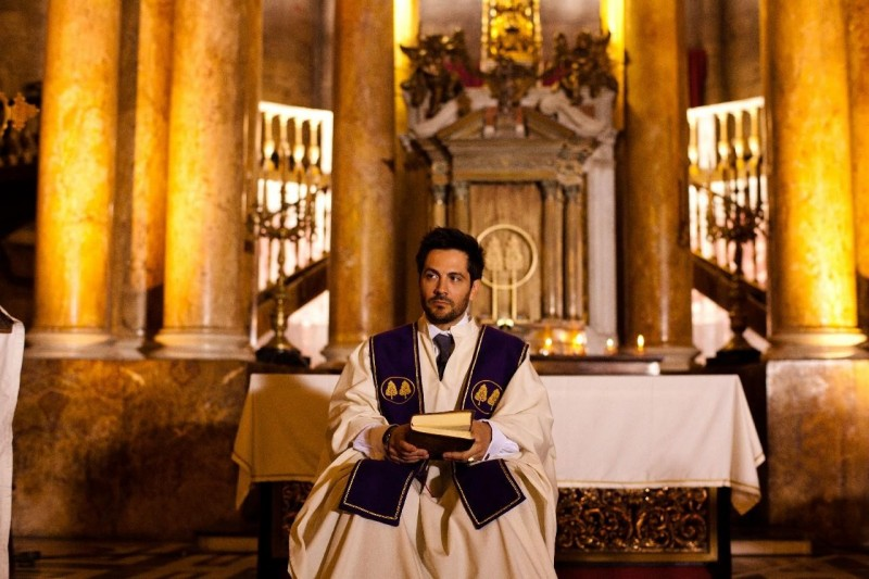 11-11-11: Michael Landes in una scena del film diretto da Darren Lynn Bousman