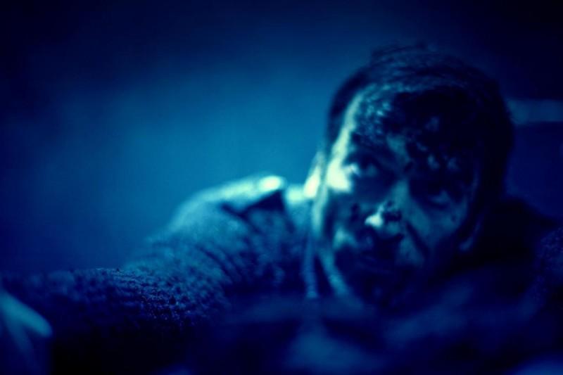 11-11-11: Michael Landes in una scena dell'horror diretto da Darren Lynn Bousman