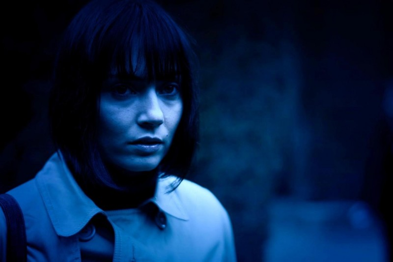 11-11-11: Wendy Glenn in una scena dell'horror di Darren Lynn Bousman