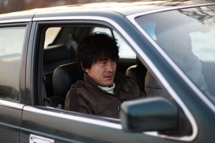 A confession: una scena del film drammatico diretto da Park Su-min
