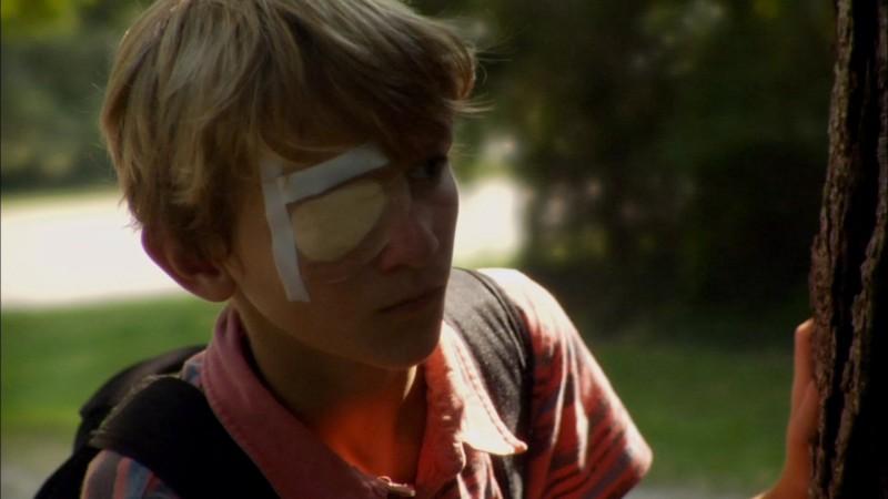 A little closer: il giovane Parker Lutz in una scena del film