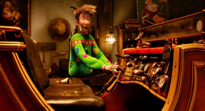Arthur Christmas è il figlio di Babbo Natale