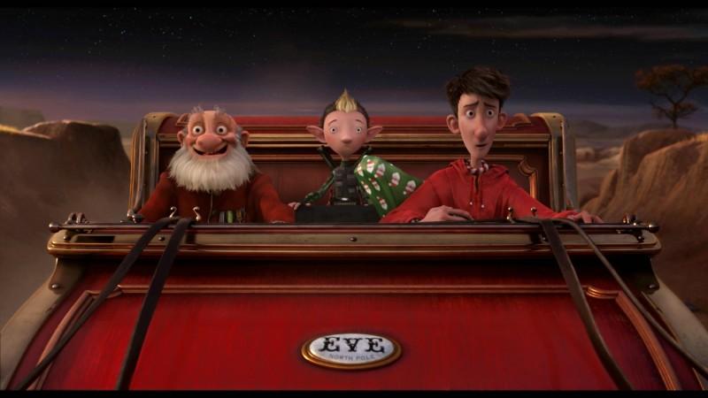 Arthur Christmas, figlio di Babbo Natale: tutti in slitta!