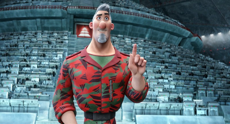 Arthur Christmas, figlio di Babbo Natale - una immagine del film d'animazione