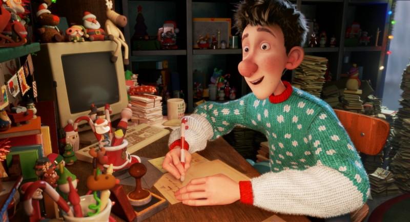 Arthur Christmas, figlio di Babbo Natale - una scena del film d'animazione