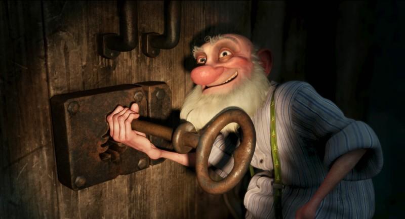 Arthur Christmas, figlio di Babbo Natale - una scena del film delle Feste