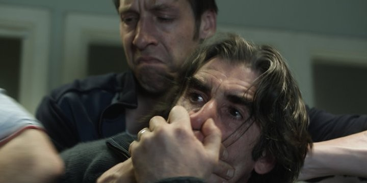 Ghosted: John Lynch e Craig Parkinson in una scena del film