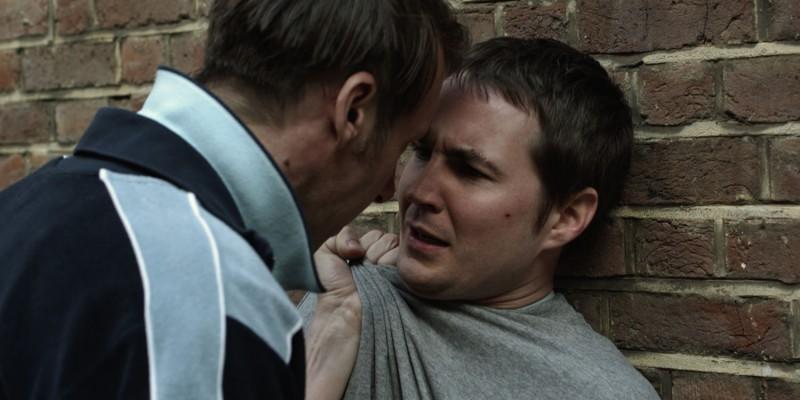 Ghosted: Martin Compston e Craig Parkinson in una scena del film