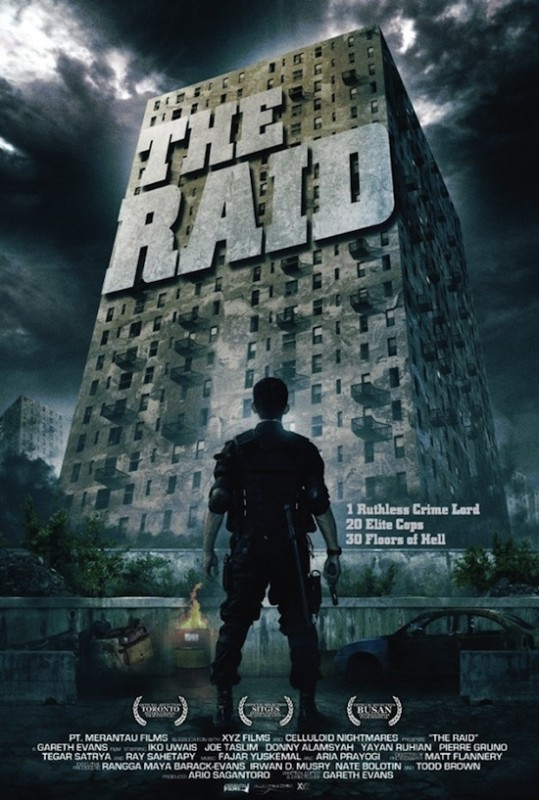 The Raid: la locandina del film