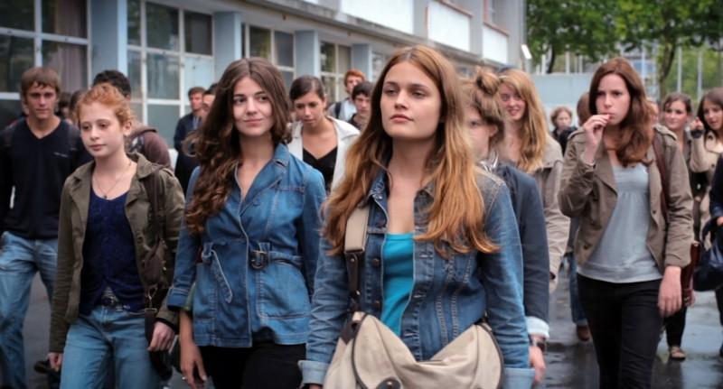 17 ragazze, un'immagine tratta dal film diretto da Delphine e Muriel Coulin