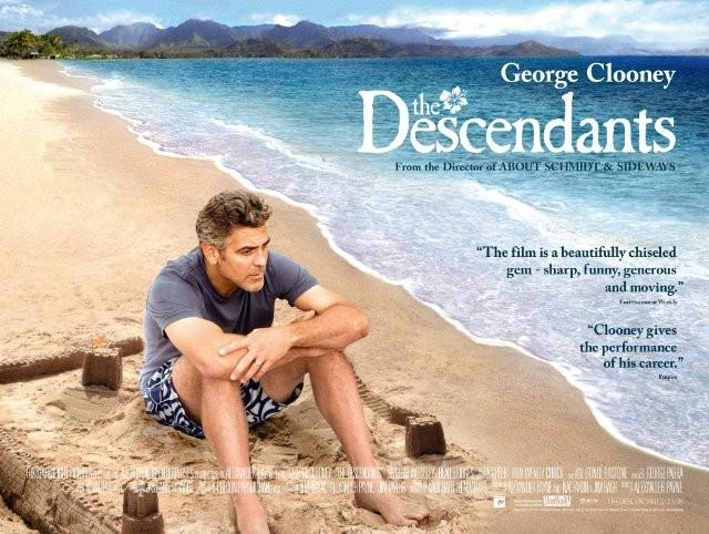 George Clooney in una immagine promo di The Descendants di Alexander Payne