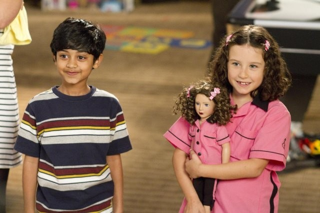Jack and Jill: i piccoli Rohan Chand ed Elodie Tougne in una scena