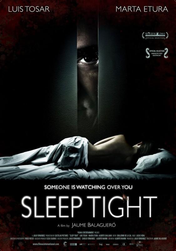 Sleep Tight: la locandina internazionale del film