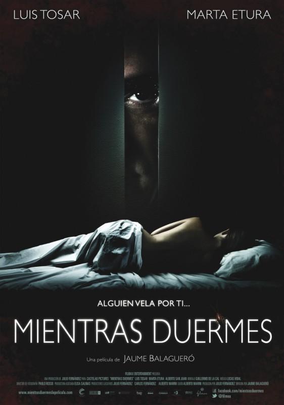 Sleep Tight, la locandina spagnola del film