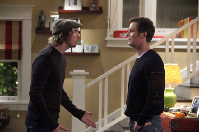 Parenthood: Dax Shepard e Peter Krause nell'episodio New Plan
