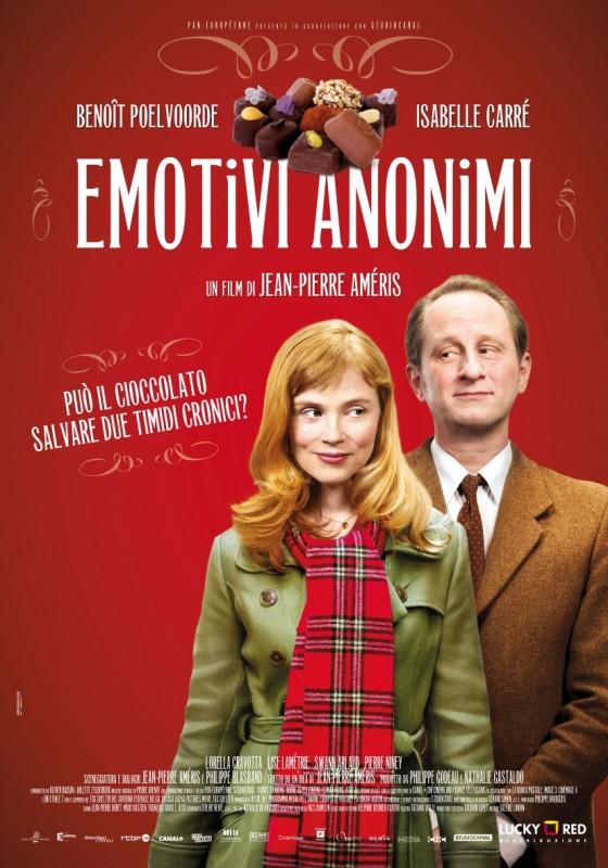 Emotivi anonimi: la locandina italiana del film
