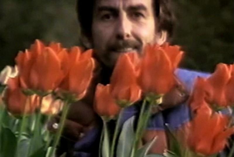 George Harrison: Living in the Material World, una scena del documentario di Martin Scorsese
